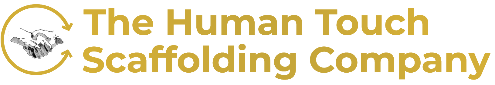 The Human Touch Scaffolding Company Logo